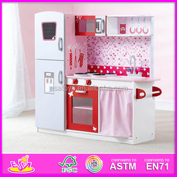 2015 stock new pretend kitchen toy set for kids popular wooden toy
