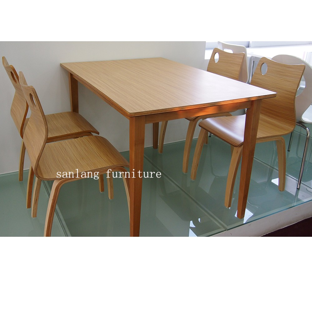 Stackable Series Fast Food Restaurant Furniture Plywood Dining ...