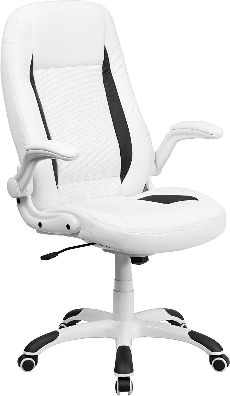 Champagne NOR-OUG104CP-SO Norwood Commercial Furniture Executive Chair with Flip-Up Arms