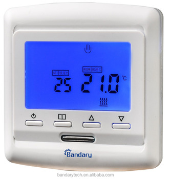 A Electric Floor Heating Thermostat For Under Floor Heating System - Heated floor timer