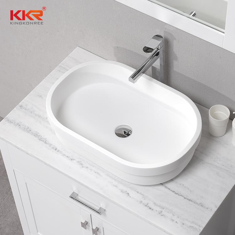 China Bathroom Countertop Basin Shape