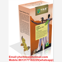 Diabetes Herbal Tea + Cardio Herbal Tea for reducing blood sugar levels