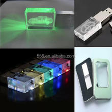 promotional electronic gadget bulk cheap crystal usb flash drive for girls