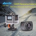 Hot Sale AMKOV 100S AMK100S 360 Degree All View 1440P 30FPS HD WiFi Sport Camera Sweep