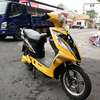 Popular 60V strong power electric scooter moped/ classic vespa scooter/electric motorcycle