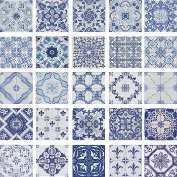 Tradizionale Portoghese Decorative Dipinte A Mano Piastrelle Di Ceramica  Azulejos