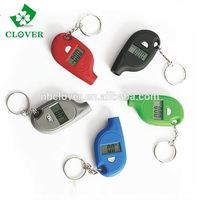 With keychain car diagnostic tool digital tire pressure gauge
