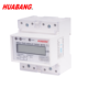 single phase RS485 MODBUS RTU direct connect LCD import and export din rail power meter