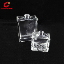 Hot sale unique square glass bottle for perfume