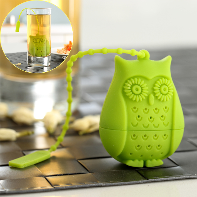 Popular item durable silicone tea strainer