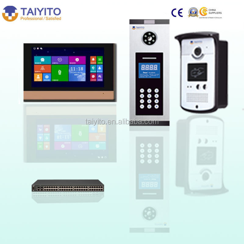 TAIYITO home video intercom system indoor extension as the Intelligent Home Gateway