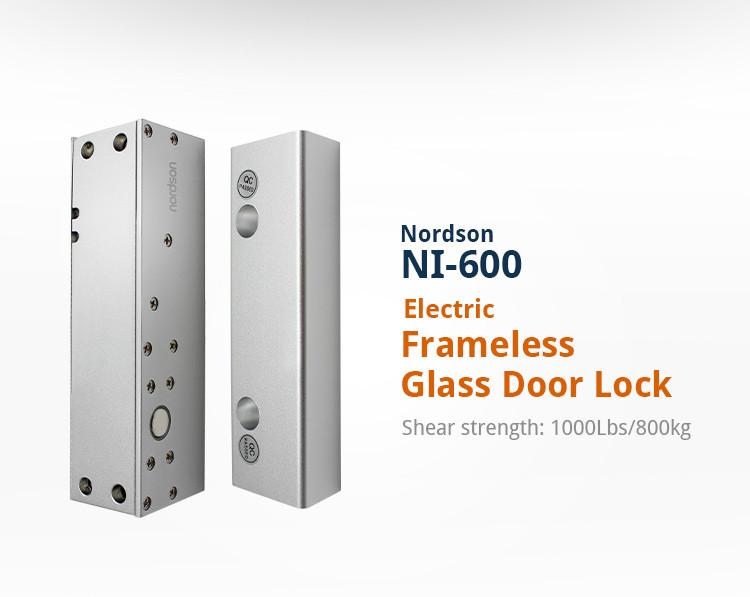 12v Working Power Electric Dead Bolt Locks For Frameless Door (ni ...