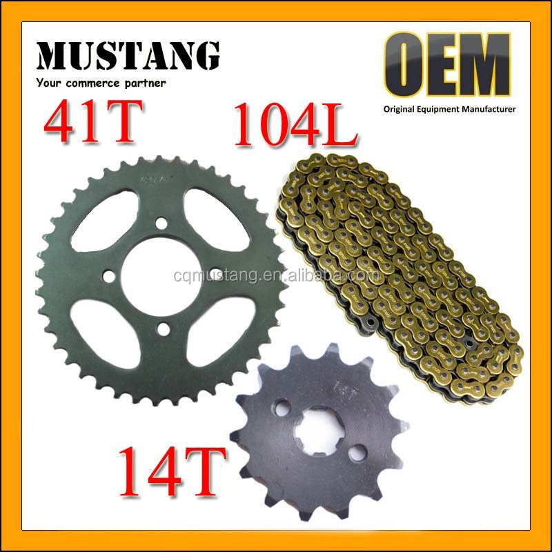for Honda Unicorn Chain and Sprocket Kits