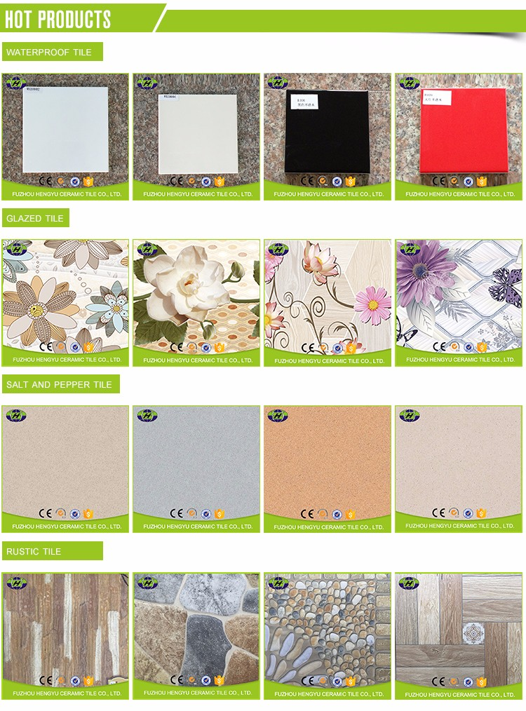top quality glossy 12x24 white horse ceramic wall tile