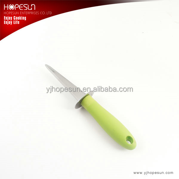 HS-KS450 Colorful stainless steel Oyster knife with PP handle