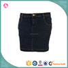2016 summer new fancy cotton denim sexy tight mini tube skirt