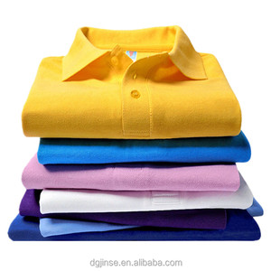 The china wholesale unisex custom logo printing 100%cotton blank polo t shirt