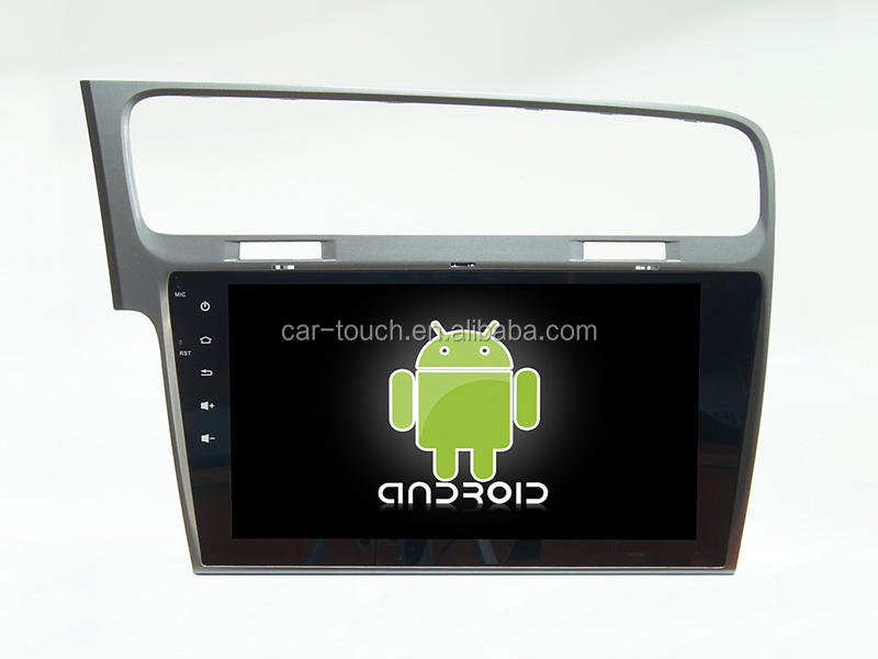 "10.1"" indash Android 6.0 car head unit dvd multimedia sat gps navigation for VW Golf 7"