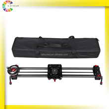 80cm carbon fiber camera rail slider system ball bearing video slider with follow focus and pan shooting function