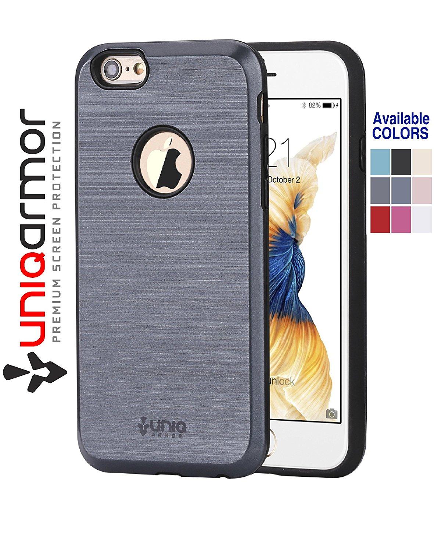 f754779f0abad8 Get Quotations · Iphone 6 case, Iphone 6S case, UniqArmor [Alluminio  Series] 4.7 Inch 6s