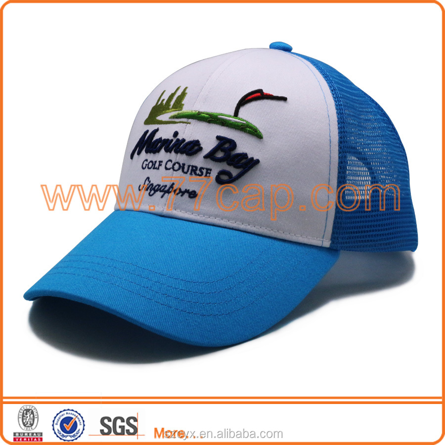 2016 OEM Fashion Custom 6 Panels Baby Snapabck Trucker <strong>Cap</strong> 3D Embroidery Mesh <strong>Caps</strong>