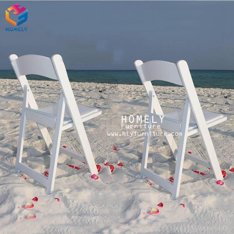 Wholesale padded wood wimbledon folding chair HLY-C15