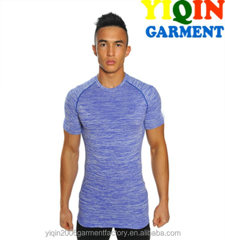GYM mens seamless T-shirts