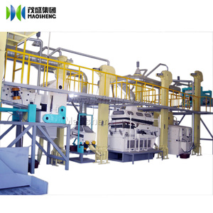 Dry green pea cleaning grading processing plant packing machines