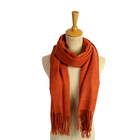 fashion winter melange color wool cashmere pashmina scarf shawl and hijab
