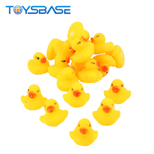 Yellow Duck 2019 New Product Bath Toy 20Pcs Lovely Yellow Rubber Duck