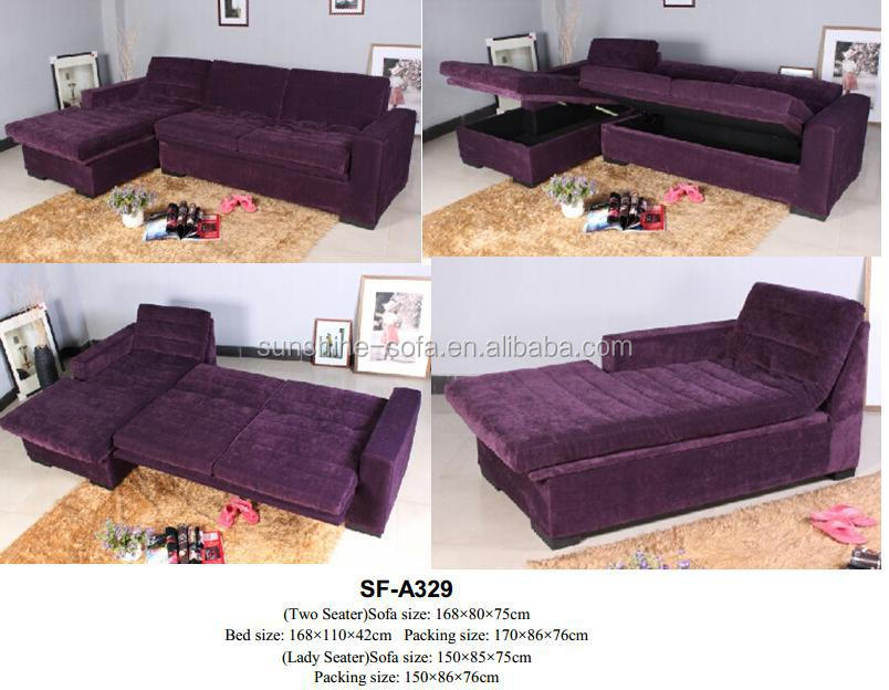 Home Corner Sofa Bed With Storage Box