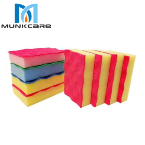 Munkcare Pu COATED Cleaning Sponges-Oem SCRUBBING WAVE Sponge