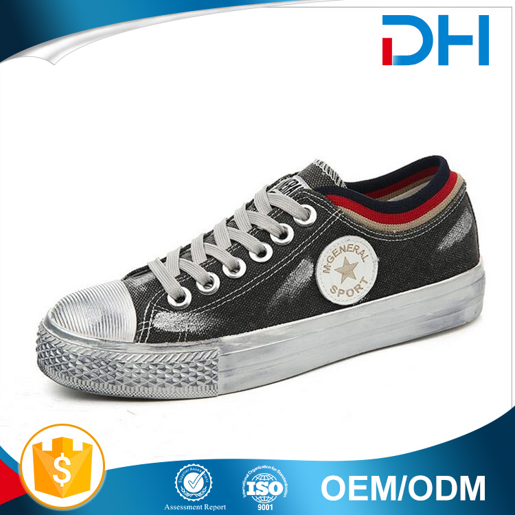 Woman made old style canvas shoes wholesale