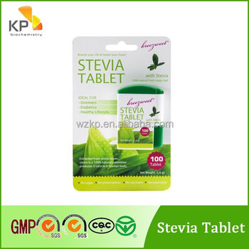 Kp 2014 China Hot Sale Low Calorie Aspartame Sweetener Tablets ...