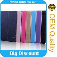 tablet cover super slim leather for ipad air 2 case, for i pad case