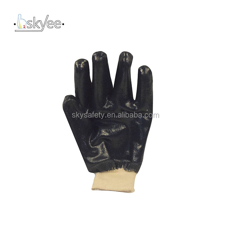 SKYEE Crinkle cotton fabric cut resistant industrial gloves