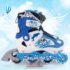 High level kids inline roller skates with BOA system