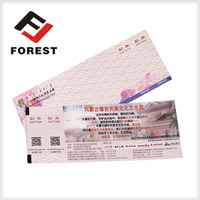 Tickets, coupons, posters printing services, ticket for vending machine