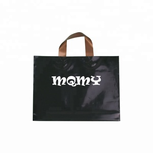 Wholesale Handle Eco-Friendly Custom Design Shopping Printing Groceries Plastic Bags With Logo