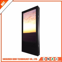 New product 2017 ads LCD screen double led tv 32 inch /42 inch advertising display price