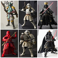 Rogue One Star Wars Action Figures Darth Vader Boba Fett Sic Samurai Taisho 17cm Anime Star