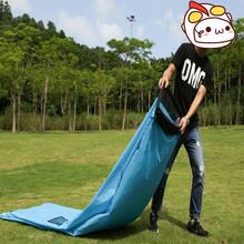 SIGO Neue Stil Aufblasbaren Schlafsack Reisen Camping Laybag Aufblasbare  Sofa, Banane Schlafsack