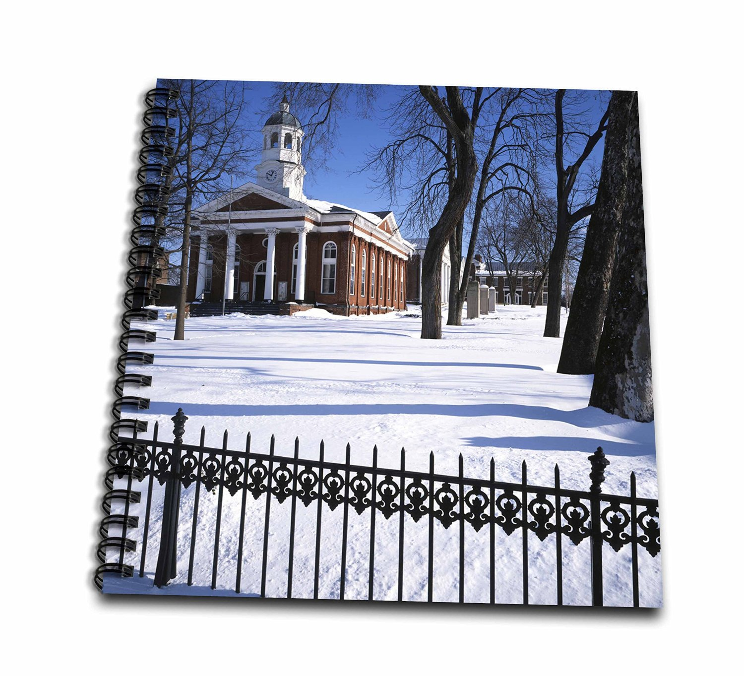 Danita Delimont - Charles Gurche - Courthouse - USA, Virginia, Leesburg, Loudoun County Courthouse. - Memory Book 12 x 12 inch (db_189697_2)