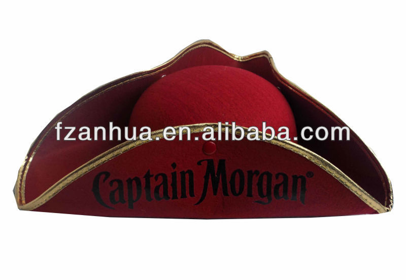 high quality funny party hats with pirate hat