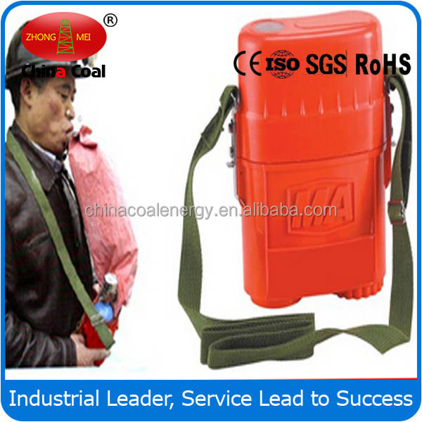 ZYX60 coal mine self-rescuer respirator with CE