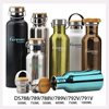 Custom logo BPA free double wall vacuum insulated bottle stainless steel sport water bottle,stainless steel water bottle