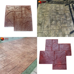 different types concrete stamp mats concrete stamping mould