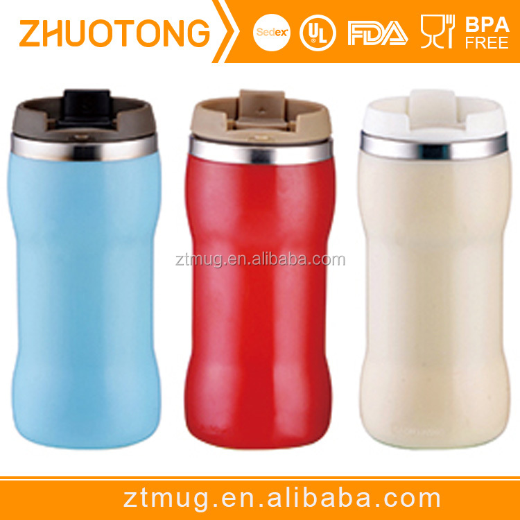 Cheap Outer Wall Stainless stainless Coffee Plastic Double Steel Bulk Travel Buy Mug Hot Selling Custom Inner Mugs CBodex