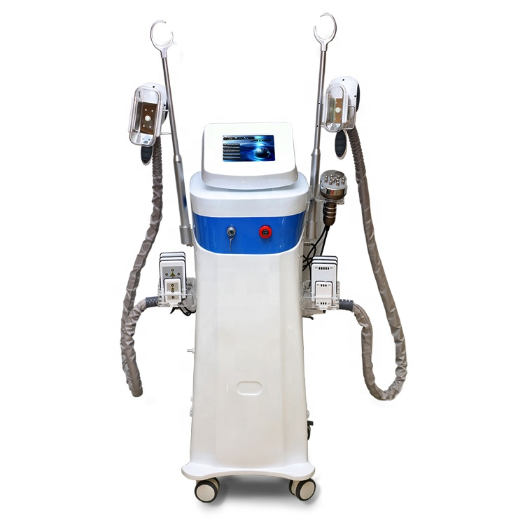 3 handles Cryolipolysis slimming machine with 1double chin Cryolipolysis slimming handle