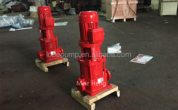 GDL vertical water pump fire fighting pump for water circulating